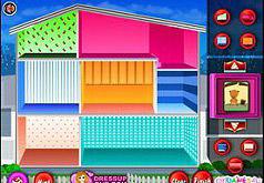 Игры строим дома и комнаты для девочек