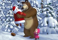 Игры маша и медведь новогодние