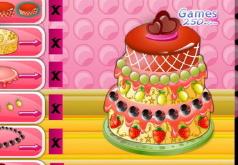 игры украсить торт эмели
