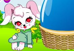Игра Пасхальный кролик и разноцветные яйца