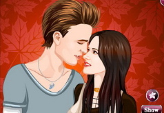 Игры Vampire Couple Love Kiss