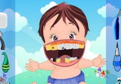 детские зубной врач флеш игра