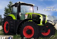 Игра Грузовой трактор доставка