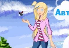 Игры Друзья Ангелов и их одевалка