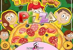 Игры Готовим пиццу на время