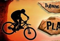 Игры Гонки по горам на велосипеде