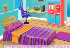 игры красочное украшение комнаты