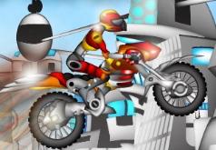 игры мото гонки роботов