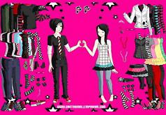 игры одевалка любовь эмо