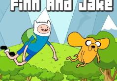 Игры Время приключений Летающие Финн и Джейк