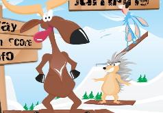 животные зимой игры