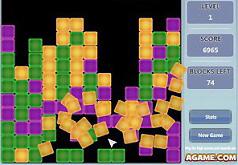 Игры Уборка кубиков