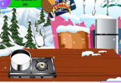 Игры готовить мороженое кухня сары