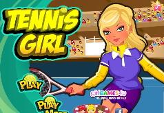 игры теннис девушка