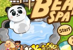 игры медведь в спа салоне