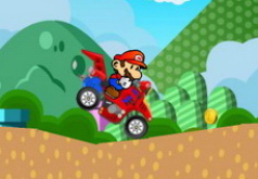 Игра Конкуренты Марио на квадроцикле