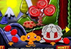 Игры Счастливая Обезьянка и Яйца