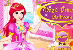 игры магия принцесса спальни