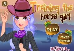 Игры Красивая одевалка девушки ковбоя