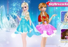 игры одевалки сестра и эльза