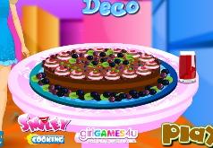 игры шоколадный пирог барби