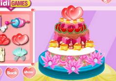 игры дизайн торта для свадьбы
