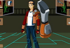 игры одеть робота