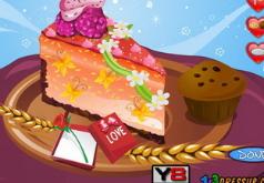 игры укрась чизкейк на день валентина