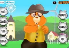 игры одеть медведя