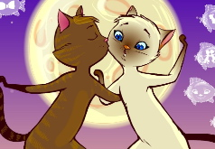 Игра Целующиеся котята