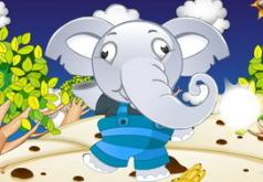 игры воруем бананы у слона