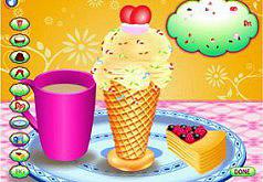 Игры мороженое рожок