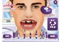 Игры Бибер у зубного
