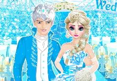 игры холодное сердце эльза и анна свадьба