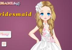 Игры Одевалка невесты подружек