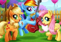 Игра Мой маленький пони Фермерский фестиваль