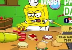 игры готовить еду губка боб
