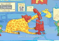 детские игры жирафы