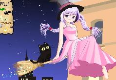Игры Ведьма над ночным городом