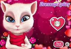 Игры Анжела Макияж на День Валентина