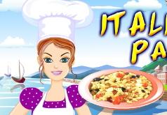 Игры салат с пастой