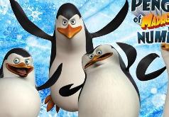 Игры Пингвины Мадагаскара Числа
