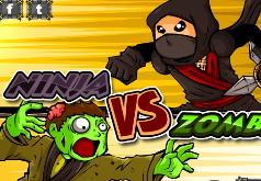 Игры Морозный ниндзя Выживание зомби