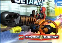 Игры Лего сити космическая гонка