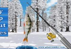 зимняя рыбалка на дальних берегах игра