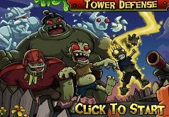 игры зашита башни от зомби