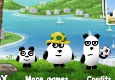 Игры три панды в бразилии