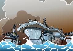 игры супер корабль