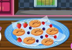 игры шоколадное печенье с грецким орехом