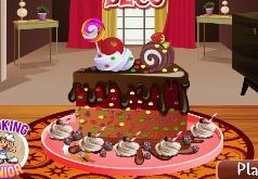 игры шоколадные украшения
